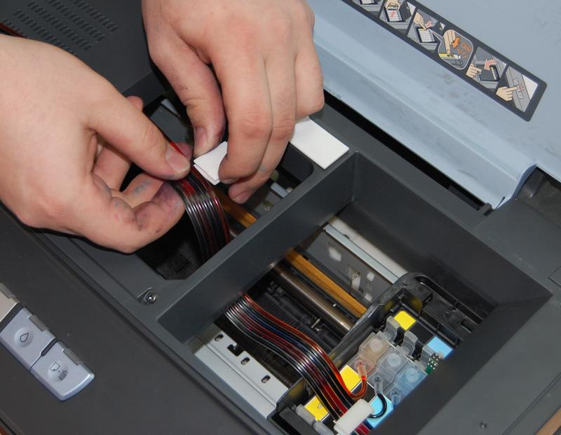 Ремонт принтеров epson своими руками 619
