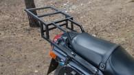 Привожу пример самостоятельного изготовления багажника для спорт-туристов Kawasaki серии ZZR и Ninja.