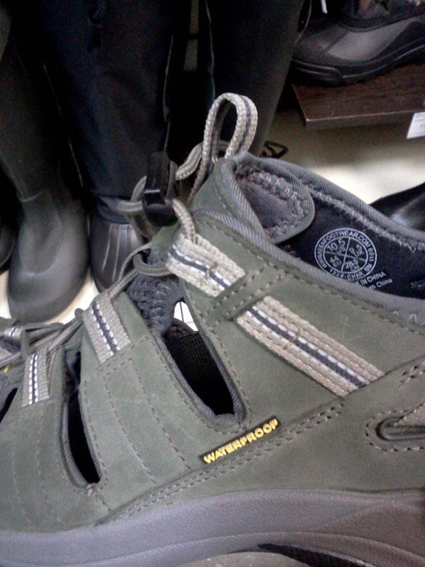 Водонепроницаемые сандали. Идиотека